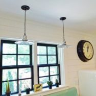 Featured Customer | Ceiling Pendants, Giant Clock Add Vintage Detailing to New Space