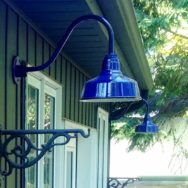 Featured Customer | Porcelain Gooseneck Light Pops with Lively Color & Vintage Roots