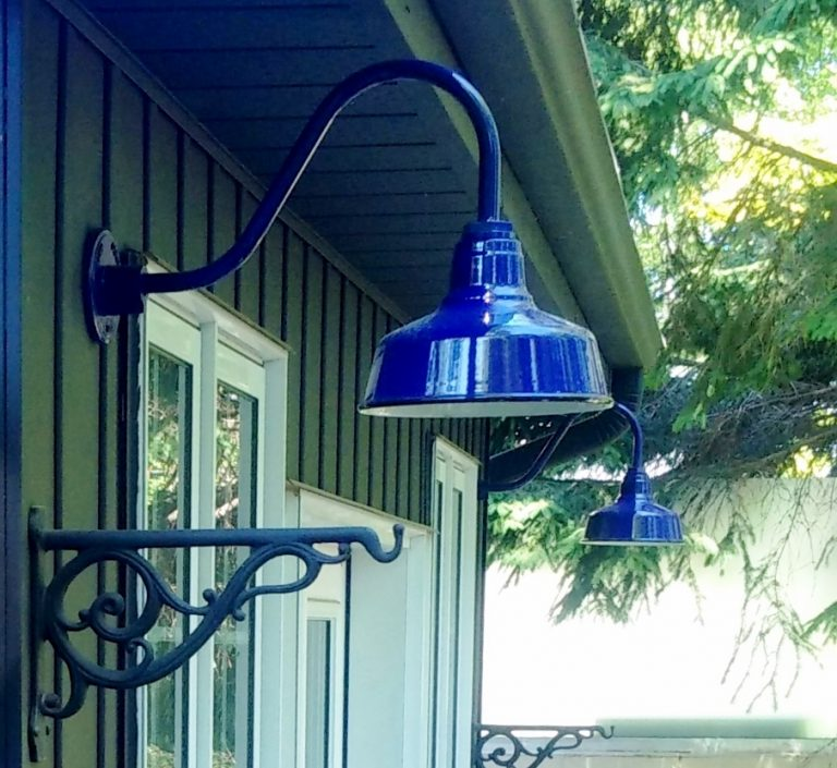 Featured Customer Porcelain Gooseneck Light Pops With