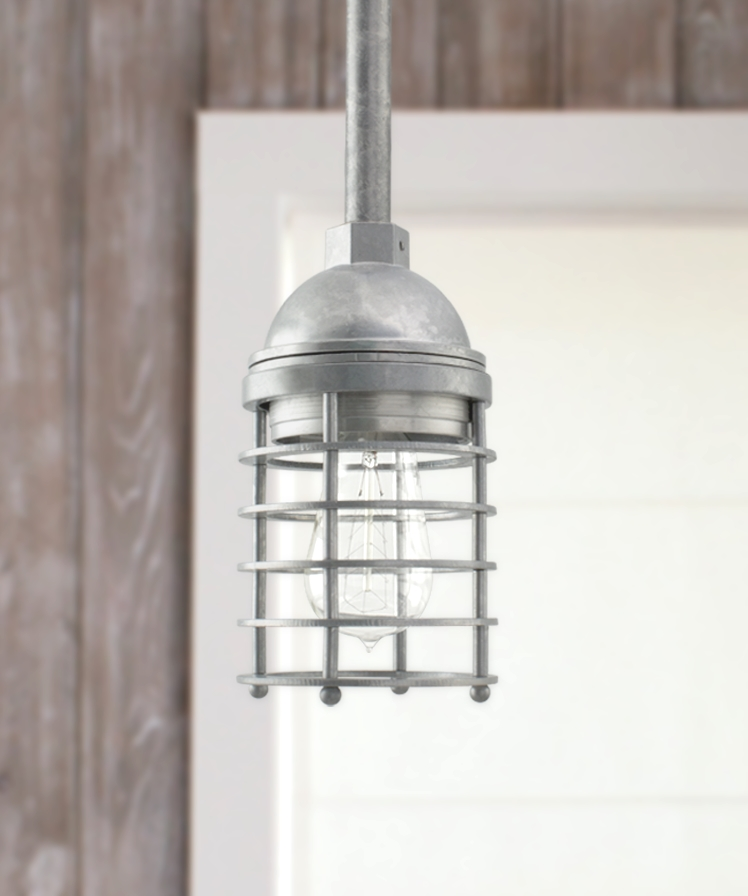 Industrial Grow Light: New Industrial Pendants Join Growing Family Of Rustic