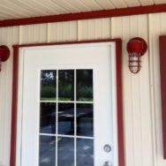 Featured Customer | Custom Wall Lights Offer Industrial Touch to Family Farm