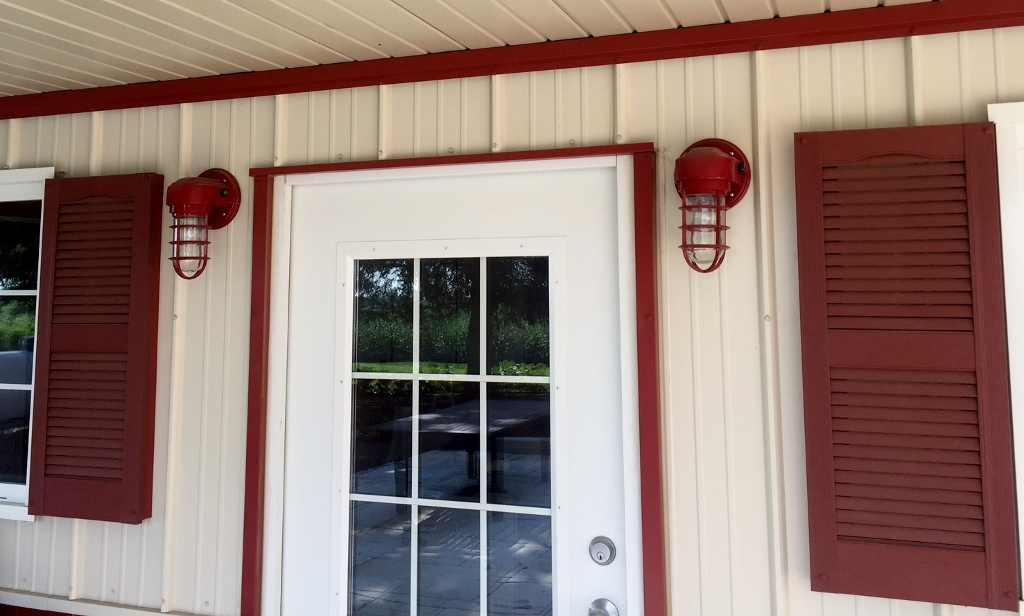 Featured Customer Custom Wall Lights Offer Touch To Family Farm