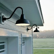 Featured Customer | Exterior Barn Lights Offer Stylish, Dark-Sky Friendly Alternative