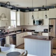 Featured Customer | Kitchen Lighting Gets Upgrade with Porcelain Wall Lights
