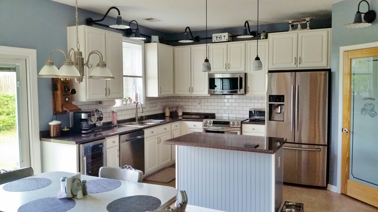 kitchen lighting gets upgrade with porcelain wall lights blog
