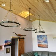 Featured Customer | Rustic Chandeliers Take Center Stage in Barn Loft