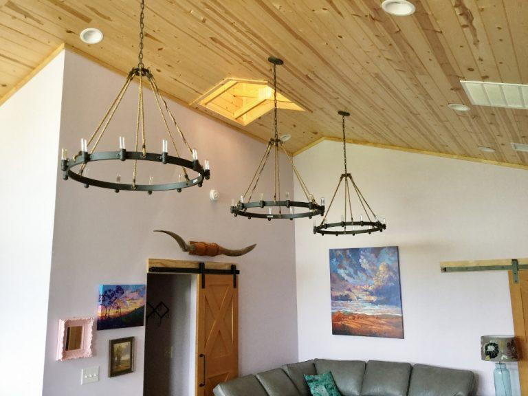 rustic chandeliers