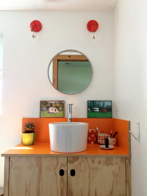 Featured Customer | Vanity Lights Provide Cherry on Top for Bath ...