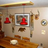 Featured Customer | Rustic Barn Lights Capture Hunting Lodge Feel in Alaska