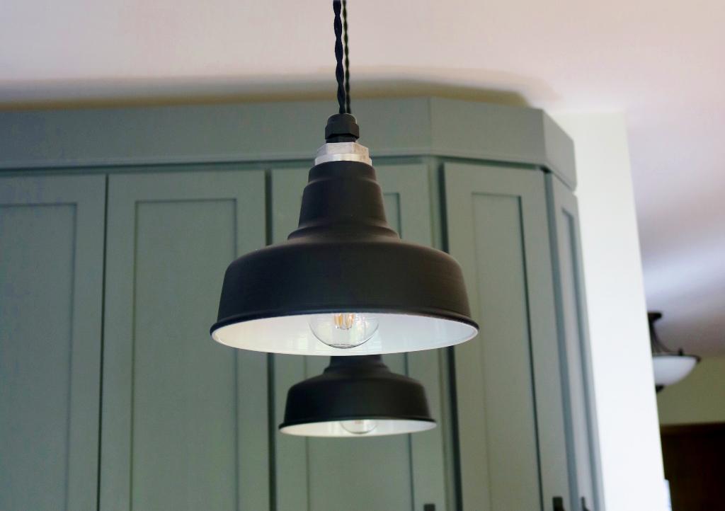 Kitchen Lights That Blend Rustic