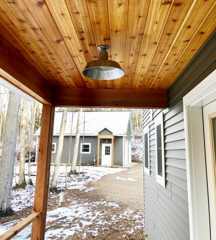 Lighting For Barns: American-Made Barn Lights For Woodland Cottage