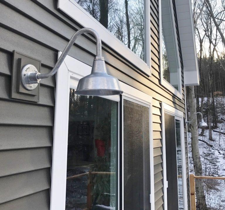 American made barn lights for woodland cottage blog barn lighting aloadofball Choice Image