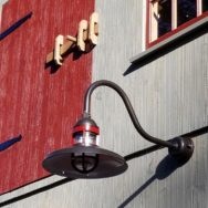 Featured Customer | Rustic Wall Lighting Lends Vintage Look to New Barn