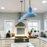 Featured Customer | Classic Barn Lights for Rustic Woodlands Home