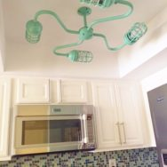 Featured Customer | Rustic Chandelier Adds Quirky, Coastal Charm to Kitchen