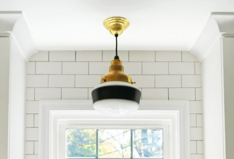 Schoolhouse Lighting Suits SEra Kitchen Blog - 1930's kitchen light fixtures