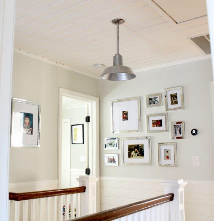 galvanized ceiling pendant