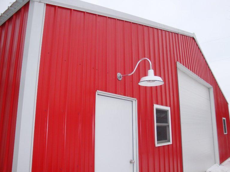 red barn light pole barn porcelain gooseneck light pops vintage style on new barn blog red tyres2c