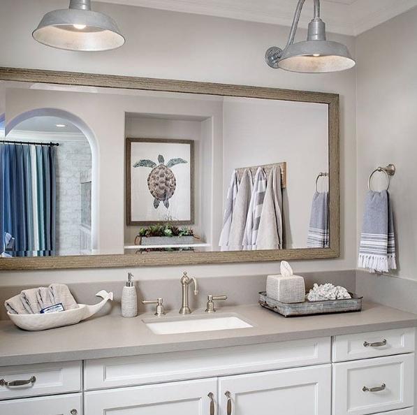 13 Dreamy Bathroom Lighting Ideas: Bathroom Lighting Inspiration Courtesy Of Instagram