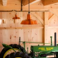 Featured Customer | Copper Pendants for Post-and-Beam Carriage Barn