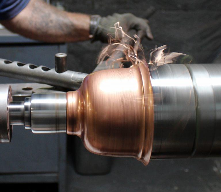 brass copper barn lights