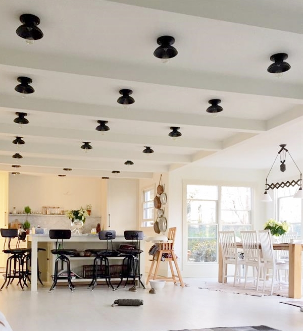 Flush Mount Lights Offer Stylish Alternative To Recessed