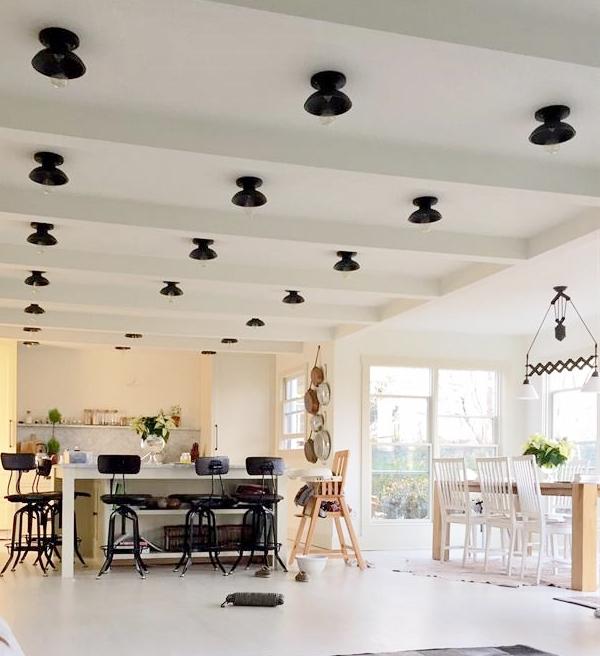 Flush Mount Lights Offer Stylish Alternative To Recessed
