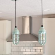 Featured Customer | Multi-Light Chandelier Adds Pop to Neutral Kitchen