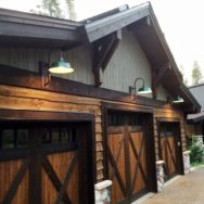 Gooseneck Barn Lights Offer Superior Downlighting for Garages