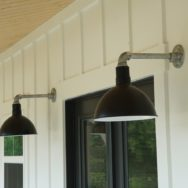 Pro's Corner | Deep Bowl Barn Lights Define Modern Farmhouse