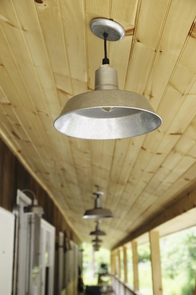Vintage Inspired Lighting For Roadside Motel Renovation