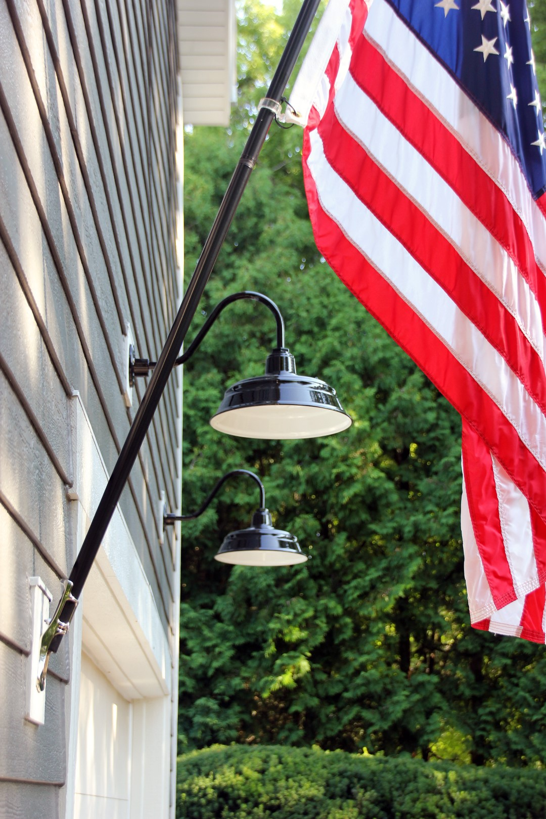 American Made Exterior Lighting Adds Final Touch
