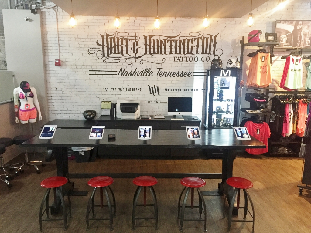 tattoo shop offers mashup of modern, industrial, rustic | blog