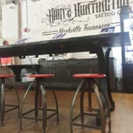 Featured Customer | Tattoo Shop Decor Mashup of Modern, Industrial, Rustic