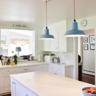 Featured Customer | Vintage-Inspired Kitchen Pendant Lighting