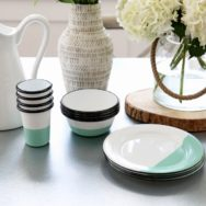Featured Customer | Enamelware Dishes Add Pop of Color to Mornings
