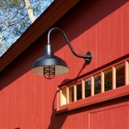 Featured Customer | Barns & Barn Lights a Quintessential Match