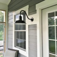 Featured Customer |  Barn Lights Key to Industrial Farmhouse Vibe
