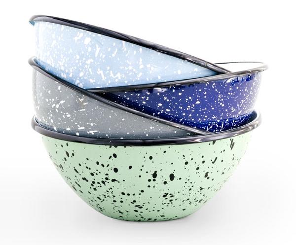 graniteware bowls