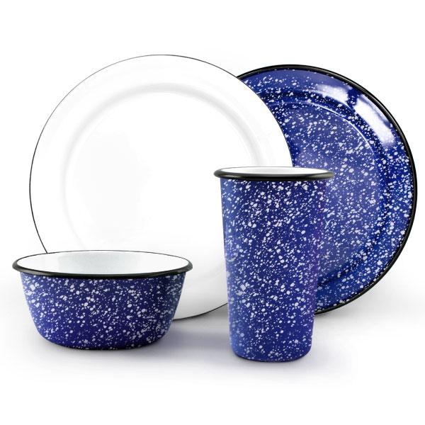 graniteware dinner set