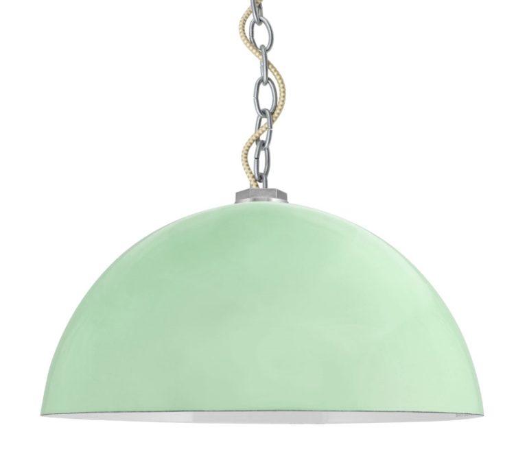 deep bowl pendant