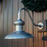 Featured Customer | Gooseneck Barn Light Adds Style to Industrial Pole Barn