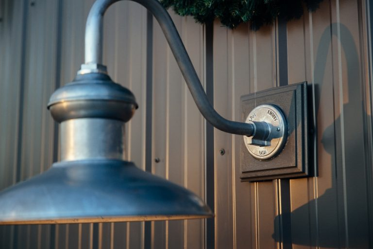 Gooseneck Barn Light Adds Style To Industrial Pole Barn
