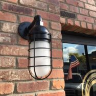 Featured Customer | Nautical Wall Sconces Attractive Both Day & Night