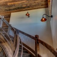 Stairway Lighting Offers Both Safety & Style