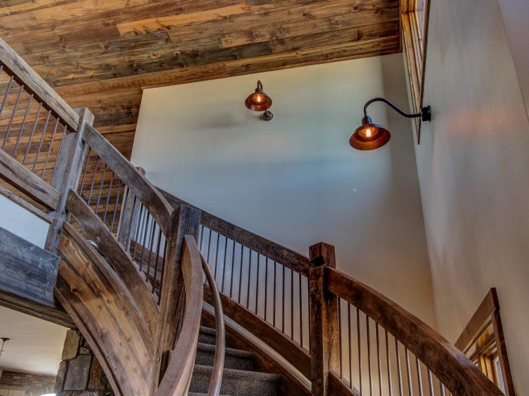 copper barn lights