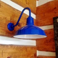Featured Customer | Gooseneck Barn Lights for Busy Craft Room