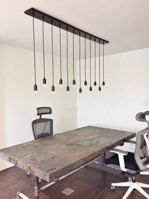 multi-light chandelier