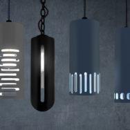 New Cylinder Pendant Lights Exude Modern Style