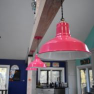 Featured Customer | Colorful Barn Lights Add Personality to Vacation Cottage